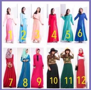 Clearance - Long dress, Jubah, sale