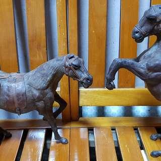 木製藝品-駿馬