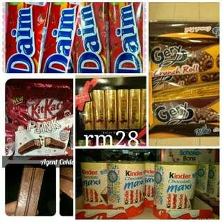 Chocolate rm28