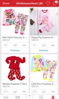 Any 2 for $16 Pyjamas