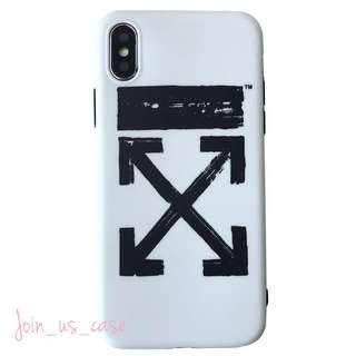 X圖案iPhone Case (6/6s/6+/6s+/7/7+/8/8+/X)