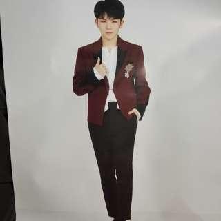 SEVENTEEN Woozi poster