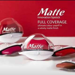 Menow Matte Innovation lipstick/lipbalm