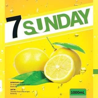 1000mL 7sunday Sari Lemon Asli