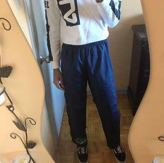 Adidas tearaway pants