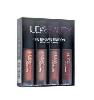 SALE!! Huda beauty the brown edition