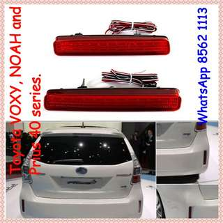 Toyota VOXY, NOAH & PRIUS Rear bumper light.( Turn signal)