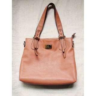 [Pre-Loved] SECOSANA Leather Shoulder Bag