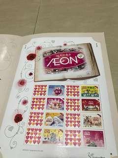 Aeon 25周年紀念郵票