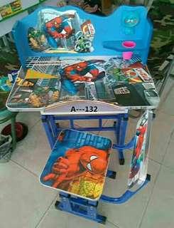 Set table dn kerusi kartun kanak2s