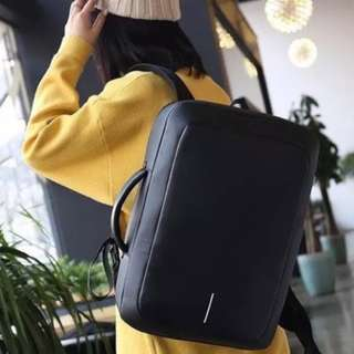 Anti Theft Backpack Briefcase Boxtype
