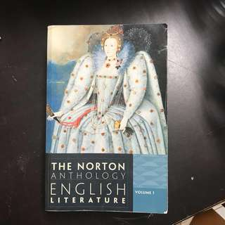 🚚 Norton Anthology of English Literature