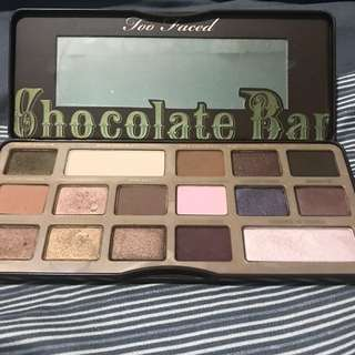 RUSH Too FaceD Chocolate Bar Palette