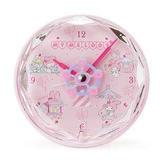 日本代購Sanrio店鋪限定My Melody 遊園時鐘鬧鐘