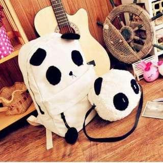 Panda Bag Set (read description)