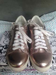 Brash Rosegold Sneakers from Payless
