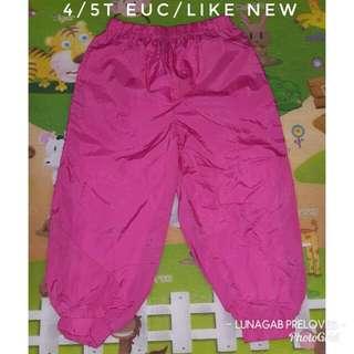 4/5t jogging pants
