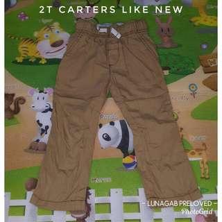 2t carters pants