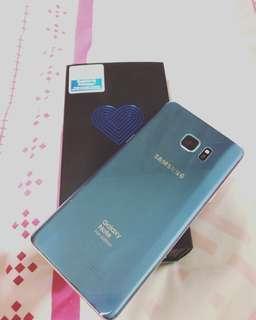 Samsung Note FE Blue