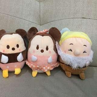 迪士尼 DISNEY 18cm香氛雲朵娃娃 Ufufy 現貨 米奇米妮 白雪公主與七個小矮人 Mickey
