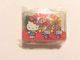 Sanrio vintage Hello Kitty 印仔 1976