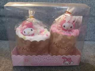 Melody towel set with hairband