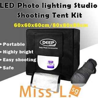 🍀 DEEP PHOTO LIGHTING STUDIO SHOOTING TENT BOX