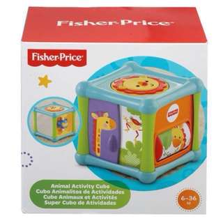 [PL] Fisher Price Animal Activity Cube Baby Toddler Toy