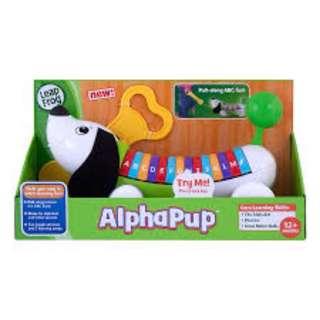 [PL] Leapfrog Alphapup baby toddler toy Alphabet