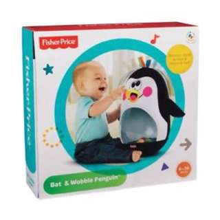 [PL] Fisher Price Go Baby Go!™ Bat & Wobble Penguin toddler toy