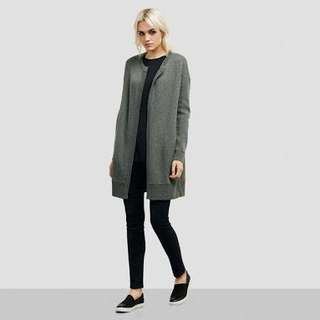 Kenneth Cole Wool Sweater Coat