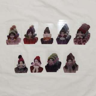 TWICE Official Blanket Photocards