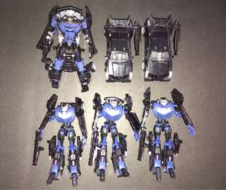 Transformers vehicons deluxe class
