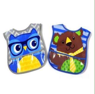 Parents Choice Boys Bibs, Pack of 2