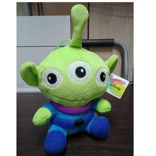 【Disney】三眼怪 娃娃 玩偶 玩具總動員 迪士尼 外星人 約25公分 (6吋)