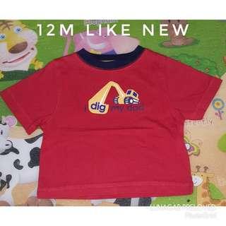 12m shirt