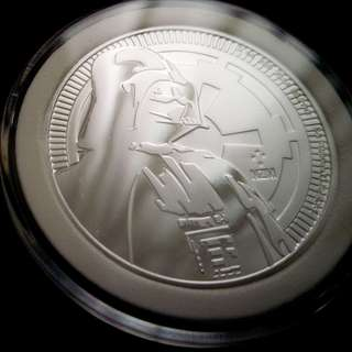 Star Wars Darth Vader™ 1oz Silver Bullion Coin BU