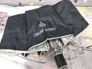全新 OMAR SHARIF 黑色 自動傘