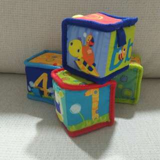 Soft Cube For Babies