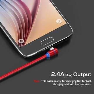 TOPK (L-Line) 1M LED Magnetic Micro USB Cable