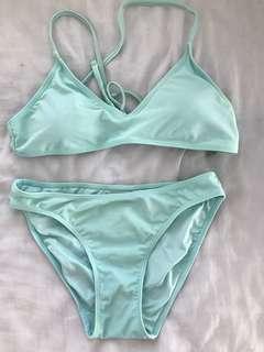 turquoise bikini set