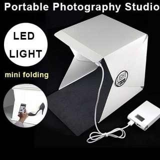 🍀 LIGHTROOM PORTABLE MINI PHOTO STUDIO BOX