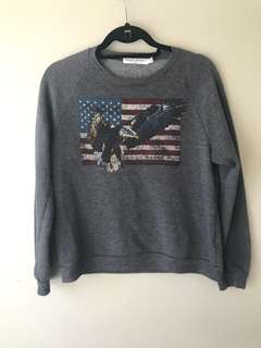 Project Social T sweater — size S