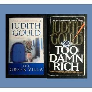 BOOK SELECTION: JUDITH GOULD The Greek Villa / Too Damn Rich