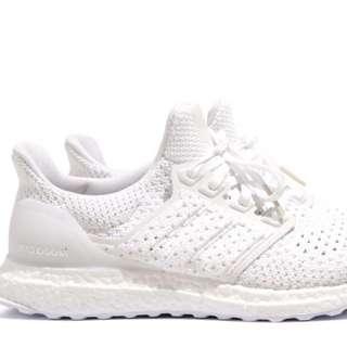 全新Adidas Ultra Boost 4.0 黑色白色