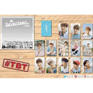 SEVENTEEN LOVE & LETTER PHOTO CARDS