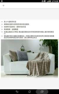 多功能毛毯/抱枕兩用毯