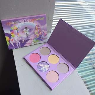 Unicorns VS Mermaids Eyeshadow by Tooth&Nail
