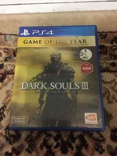 Ps4 Game Dark Souls 3 Game of the year Edition