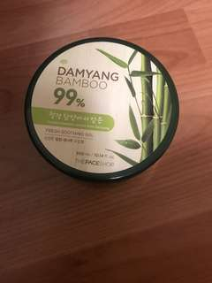 Face shop bamboo soothing gel